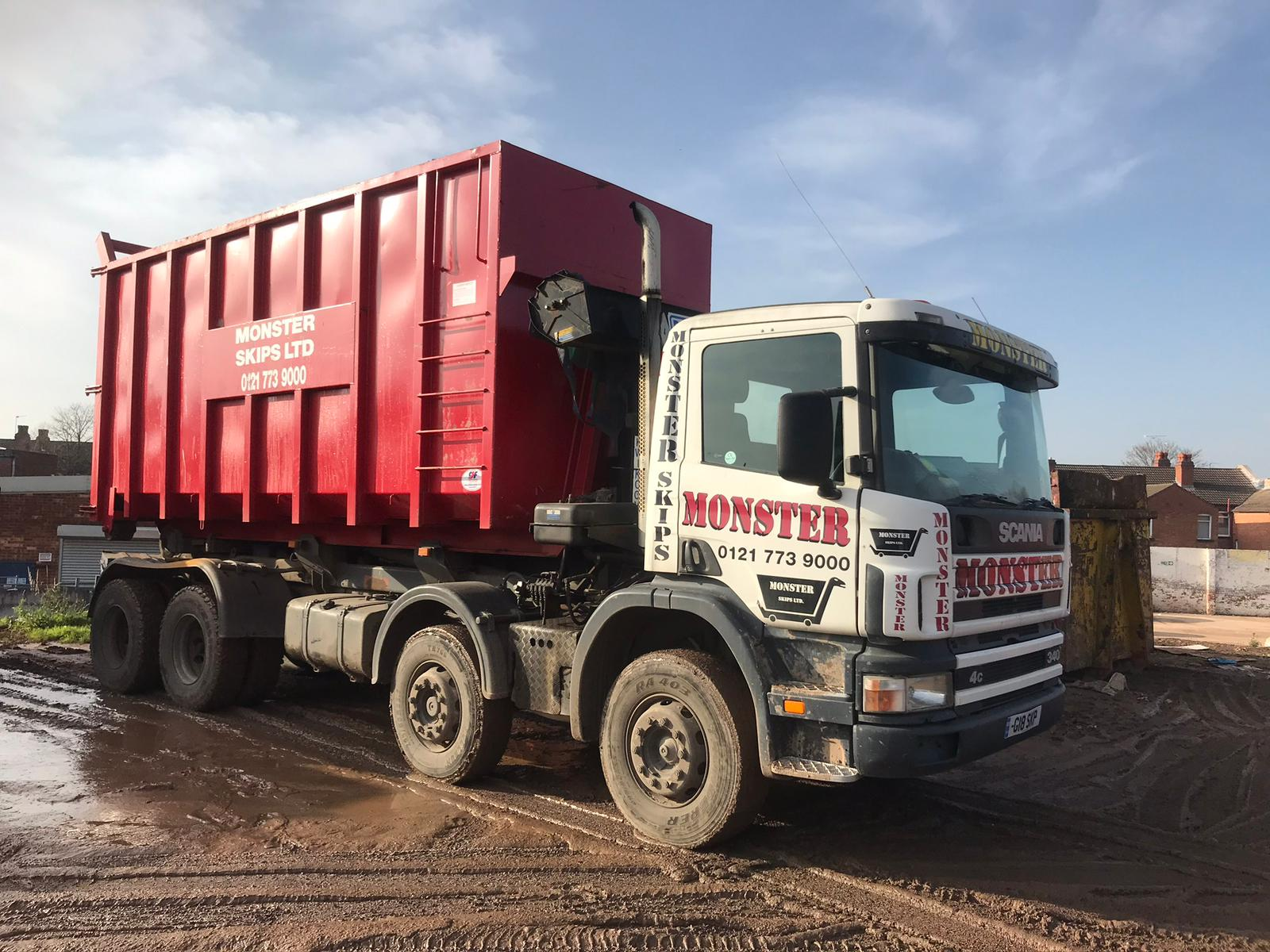 commercial skip hire Hallgreen