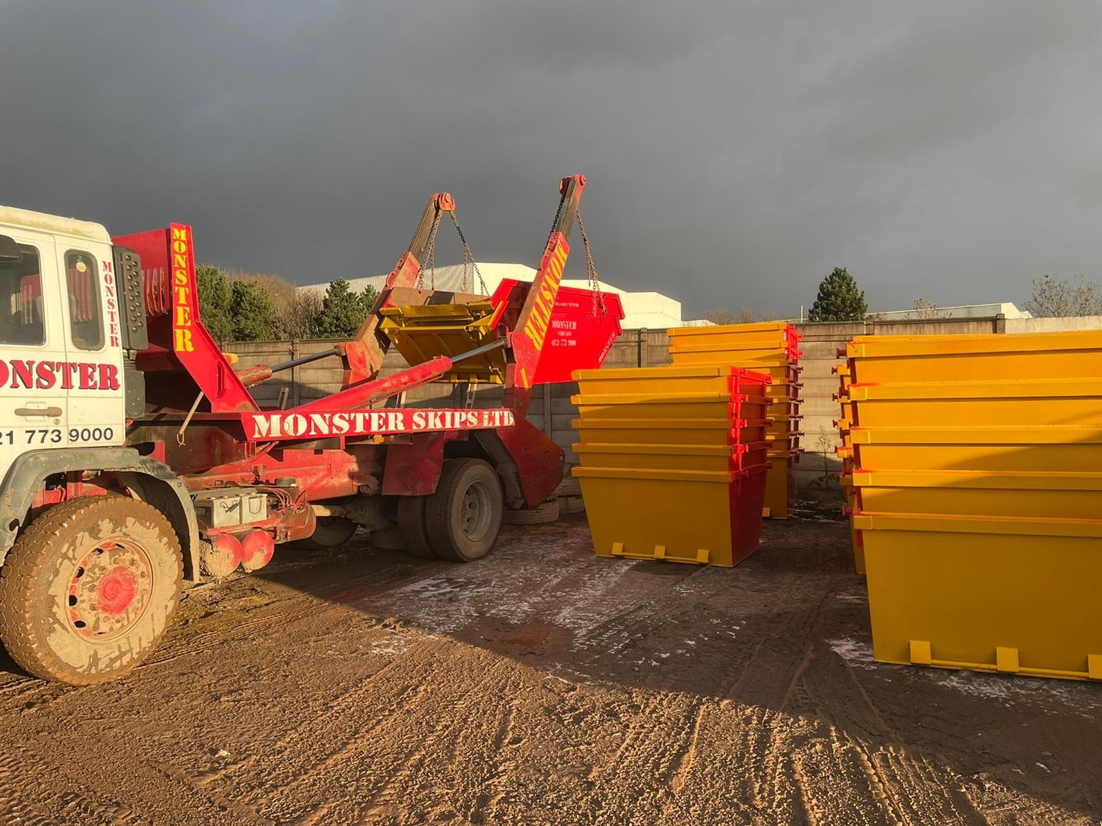 commercial skip hire Maypole