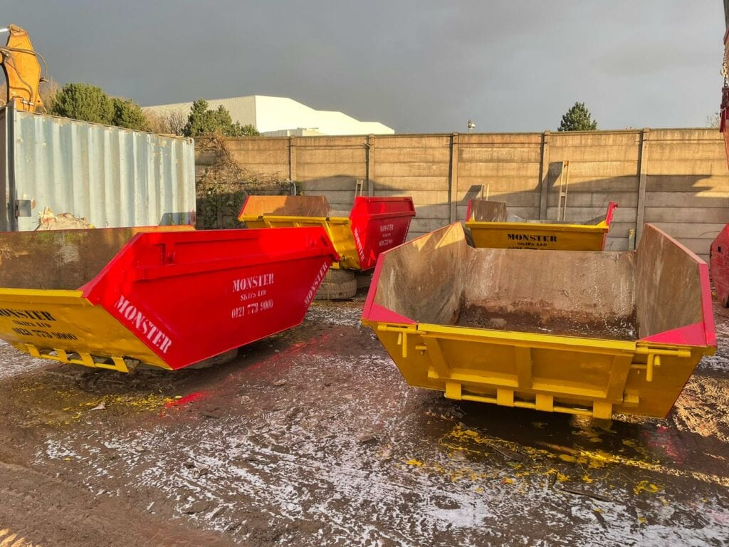 Builders Skip Hire Solihull